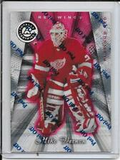 97-98 Totally Certified Mike Vernon Platinum Red # 8