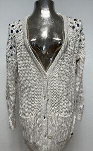 Tom Tailor Denim Knit Strickjacke Gr. M Np 379€ Neu