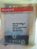 New Honeywell Q672B10041 Thermostat sub base