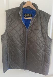 Men's Barbour Quilted Vest Large
