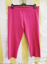 Pink Capri Leggings L 44 46 bi-elasti.hochwertig Caprileggings Baumwolle Elastan