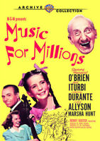 Music For Millions [New DVD] Manufactured On Demand, Mono Sound