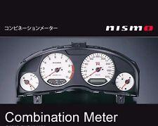 JDM OEM NISMO COMBINATION METER CLUSTER WHITE SKYLINE R34 GT-R GTR BNR34 JAPAN