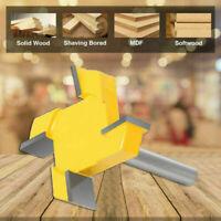 8mm Schaft Spoilboard-Oberflächenfräser Bit Hartmetall-Holzbearbeitungs Werkzeug