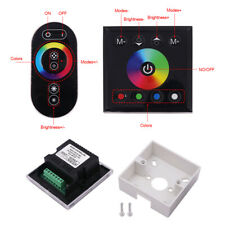 LED Controller RGBW Full Color Touch Panel Controller DC12-24V For Strip Light