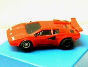 VINTAGE TYCO RED LAMBORGHINI HO SCALE SLOT CAR