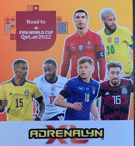 PANINI ADRENALYN XL ROAD TO FIFA WORLD CUP QATAR 2022 TRIO FANS TITAN 10 - 189
