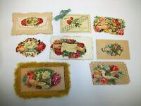 Antique Victorian Die Cut Calling Cards