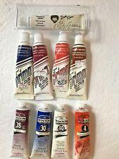 9 Tubes Oil Colors 37ml New & Barely Used Bob Ross Windsor & Newton Martin Weber