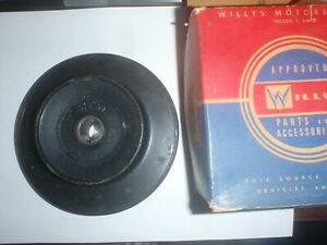 NOS Generator Pulley Willys Jeep Pickup Wagon & Truck 226 ci 6-cylinder engine