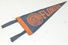 Antique Stitched Felt With Ties University of Florida Pennant