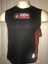 UNK NBA Jersey Basketball  Black/Red NWT size XL EXTRA LARGE BOYS