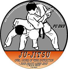 JU-JITSU 3 DVD'S EASY TO FOLLOW TRAINING LESSONS  2+ HRS  VIDEO TUTORIAL  NEW