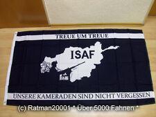 Fahnen Flagge ISAF Fahne Deutschland Afghanistan - 90 x 150 cm