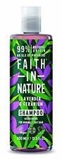 Faith in Nature Shampoing Naturel Lavande et Géranium, Nourissant, Végan  ...