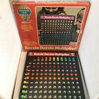 Rare Vintage 1970's Palitoy Discovery Time Razzle Dazzle Multiplier Game