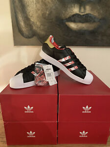Adidas Superstar Lunar New Year Size 9UK Limited Edition Shoes Cheap!