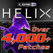 Line 6 HELIX - Patches / Presets for Line 6 HELIX, LT, Native - HUGE TIME SAVER!