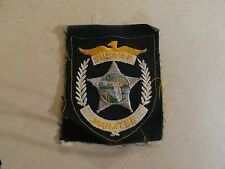 Law Enforcement Patch Sew On Older Sheriff Manatee Florida