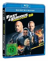 HOBBS & SHAW [Blu-ray 3D] (2019) German Import Fast and Furious Dwayne Johnson