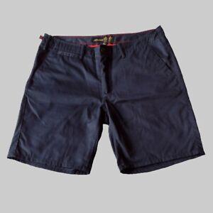"MUSTO Evolution Sailing Shorts UPF40 Mens Size 36"" Waist Blue"