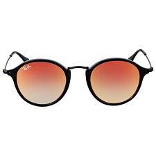 Ray Ban Round Orange Gradient Flash Sunglasses