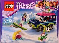 LEGO Friends 41321 Geländewagen im Wintersportort Jeep Emma Snowboard Piste NEU