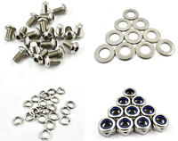 A2 Stainless Allen Bolts 201 Qty Nuts /& Washers for HONDA CB 400 SPR FOUR