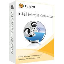 Total Media Converter PC Tipard dt.Vollversion lebenslange Lizenz ESD Download