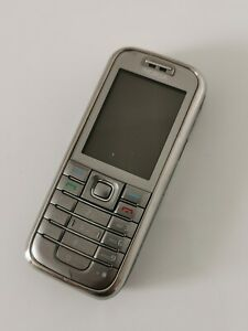 Nokia 6233 - Silver (Unlocked) Mobile Phone (Original) (Made in Germany)