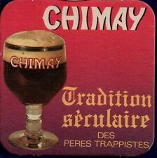 CHIMAY  - TRAPPIST  BEERCOASTER FROM BELGIUM SE17061