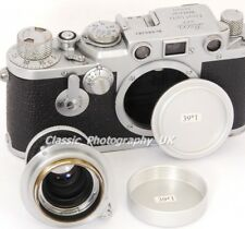 LEICA Body Cap for Leica LTM + LEICA L39 Rear Lens Cap for NOCTILUX 0.95/50mm