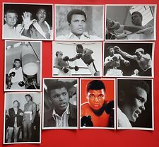 Set of 10 NEW Boxing Postcards Muhammad Ali Henry Cooper Cassius Clay