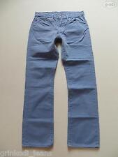 Levi's® 511 Skinny Jeans Hose W 33 /L 32, grau, TOP ! Röhre, coloured Denim ! 48