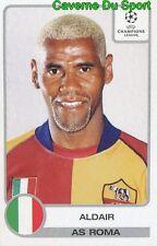 027 ALDAIR BRAZIL AS.ROMA STICKER PANINI UEFA CHAMPIONS LEAGUE 2001-2002