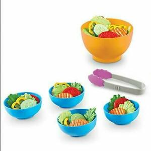 Learning Resources Garden Fresh Salad Set, Vegetables, Play Food, 38 Piece...