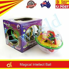 208 Barriers 3D Labyrinth Magic Intellect Ball Balance Maze Perplexus Puzzle Toy