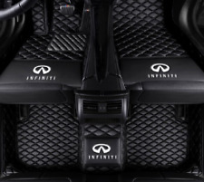 FIT 2014-2021 Infiniti QX60 Black All-weather Waterproof Anti-slip Car Floor Mat