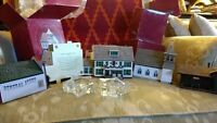 VINTAGE HALLMARK SARAH PLAIN AND TALL 5 HOUSES IN BOXES REPLICAS FOR CHRISTMAS