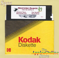 ✅ Game Pack: Oregon Trail + 3 other Western Games for Apple IIe IIc IIGS