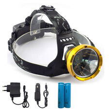 Rechargeable Led headlamp Camping Hiking Headlight 18650 Head torch Lamp Light