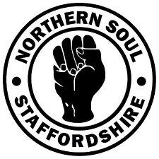 Northern Soul - Staffordshire - Voiture Nouveauté / Autocollants pour Fenêtres +