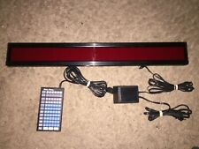 DYNASTY HI-LITE The Moving Message Electronic Display Sign TESTED EUC