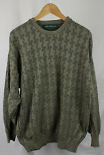 Vintage Tundra Made In Canada Green Crewneck Sweater Sz L