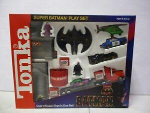 1990 Tonka Batman Super Batman Playset