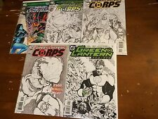 GREEN LANTERN lot of 5 variant covers CORPS 15,20,58 sketch REBIRTH 2 GL 64 WAR