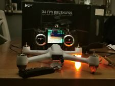 Hubsan H501S X4 BRUSHLESS DRONE AEREO 1080P GPS Telecamera HD (Bianco)