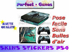 Skin sticker auto-collant vinyl Assasin's Creed n°4 pour console SONY PS4