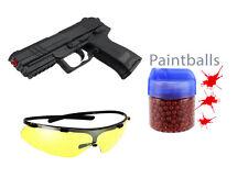 Air Soft Set - Kugelpistole + Schutzbrille + 500er Paintball Gotcha Softair GYD1