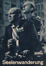 Progress Filmprog. Nr. 8/66 Seelenwanderung ( Hanns Lothar , W. Reichmann )